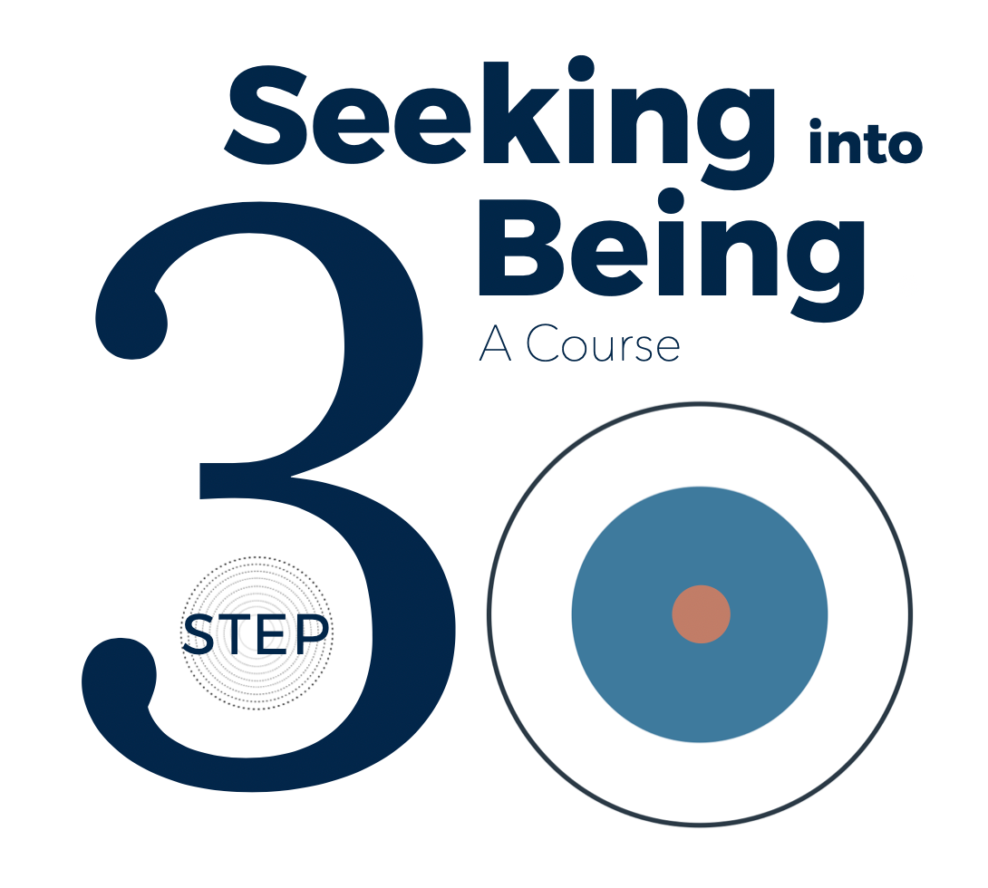 Conversations with Spirit - Step 3 - Seeking into Being - Spirituality of Remembering