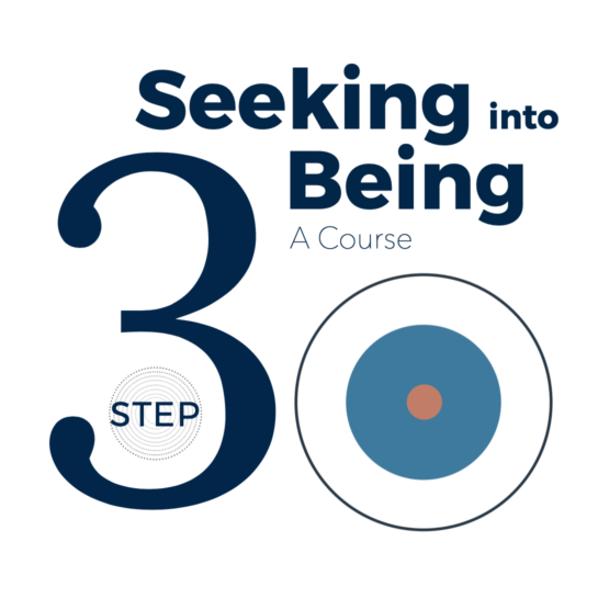 Conversations with Spirit - Step 3 - Seeking into Being course - Spiritual counselling - Spirituality of Remembering