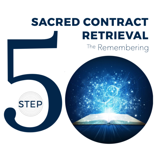 Conversations with Spirit - Step 5 - Sacred Contract Retrieval - Spiritual counselling - Spirituality of Remembering