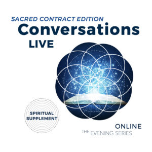 Conversations Live Online Evening Series Dates - SCR Edition